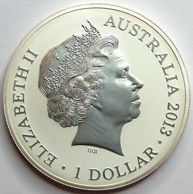 AUSTRALIE - 1 Dollar - ONCE Argent BE - Kangourou - 2013