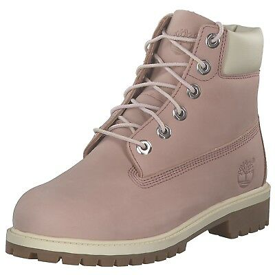 25669d8fad9 Timberland 6in Premium Bottes pour Femme Chaussures D Hiver C34992 Rose Neuf