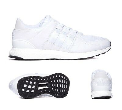 Mens Adidas EQT Support 93/16 Boost White Trainers (PF27) RRP £124.99