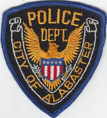 Alabaster Police Department Alabama Al Older Patch