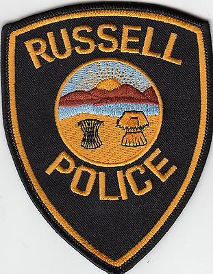 Russell Police Shoulder Patch Ohio Oh