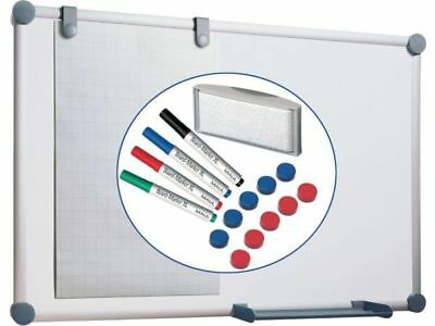 Whiteboard Komplett-Set H900xB1200mm