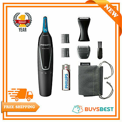 Philips Series 5000 Waterproof Nose, Ear, Eyebrows Detail Hair Trimmer NT5171/15