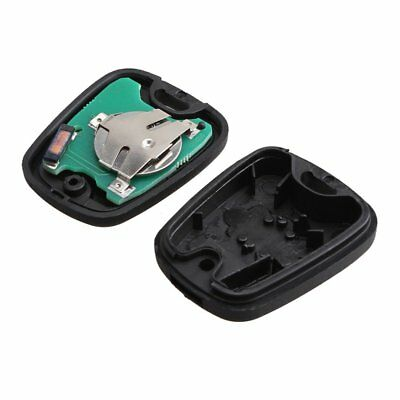 Car 2 Button Remote Key Fob Case Shell for PEUGEOT 206 433MHZ PCF7961 Chip