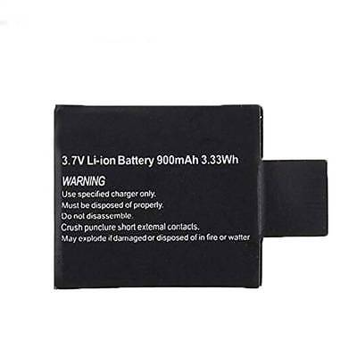 3.7V 900mAh Rechargable Li-ion Camera Battery For SJCAM SJ4000 SJ5000 SJ6000 M10