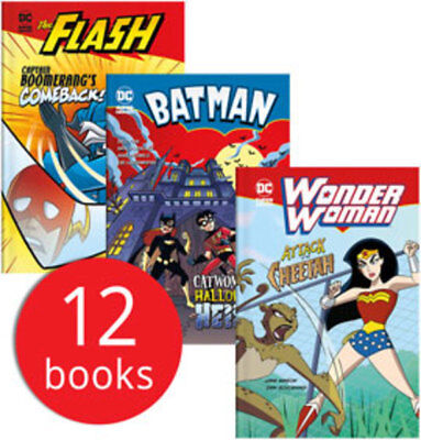 DC Superheroes Collection - 12 Books