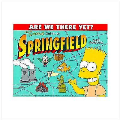 The simpsons guide to Springfield - paperback