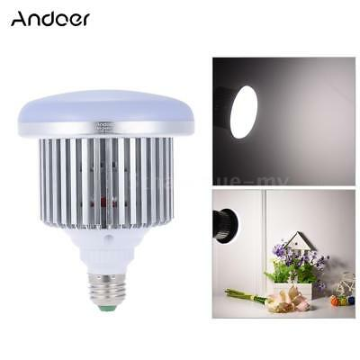 Ampoule Andoer 50W 5500K 72 Beads E27 Socket Photo Video studio Daylight T6B4