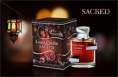 Sacred by Louis Cardin 100ml Mens Perfume Fragrance Sandalwood Musky Scent