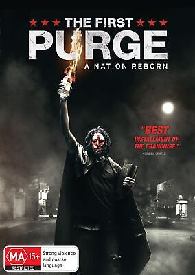 The First Purge DVD Region 4 NEW
