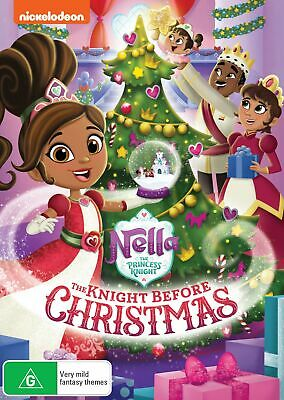 Nella the Princess Knight The Knight Before Christmas DVD Region 4 NEW