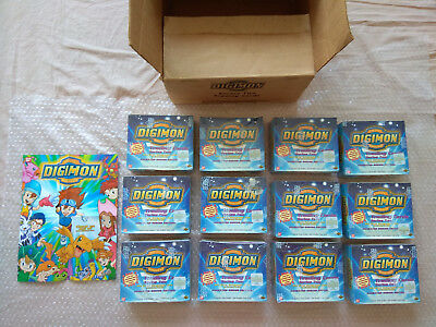 Carton D'usine - x12 Display Digimon Trading Card Series Two - Animated Series