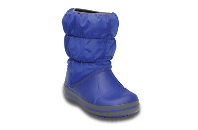 Chaussures Enfants/Junior Sneakers Crocs Winter Puff Boot [14613 Cerulean Blue]