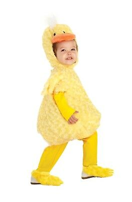 Belly Babies Yellow Duck Costume Child Toddler