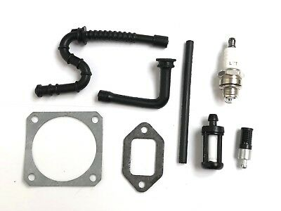 Service Kit Fits Stihl Ms340 Ms360 Chainsaws Gaskets + Pipe & Filters