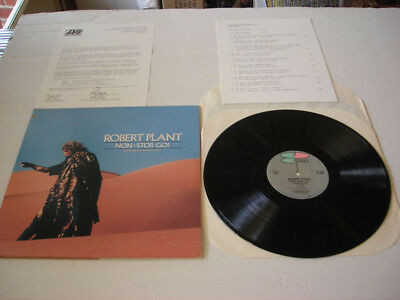 Lot of 5 Vintage Robert Plant Non-Stop Go (1988) Memorabilia - 'RARE' Originals