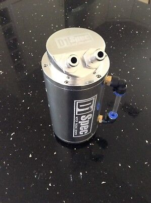 D1 SPEC Oil Catch Can! SILVER! Honda, Nissan, BMW, Audi, Volkswagen UK SELLER!!