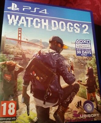 Watch Dogs 2 Watchdogs 2 PS4 Playstation 4 Game