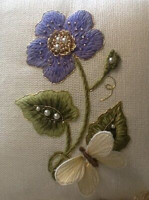 'Forget -me-not'- an embroidery and stumpwork kit for Beginners