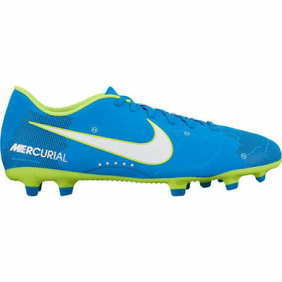 new concept ca548 01f87 Nwob Sz 4.5 Nike Jr Mercurial Victory VI Neymar FG Soccer Cleats Orbit Blue