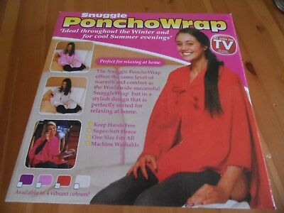Red Snuggle Ponchowrap New & Boxed