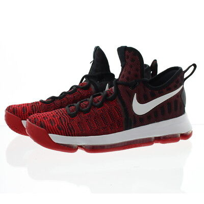 6286f4efe5b8c Nike 843392 Mens Zoom Kevin Durant 9 Low Top Basketball Shoes Sneakers Red