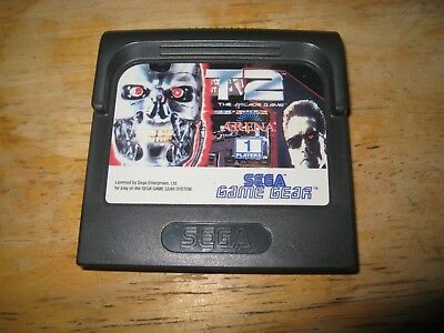 SEGA Game Gear T2 The Arcade Game Cartridge Only