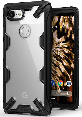 For Google Pixel 3 / 3 XL Case Ringke [FUSION-X] Shockproof Bumper Armor Cover