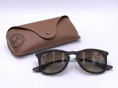16f6704714 Ray Ban Sunglasses RB4221 865 13 Matte Tortoise  Brown Gradient AUTHENTIC  Italy