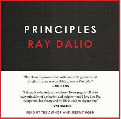 Principles: Life and Work by Ray Dalio (audio book)