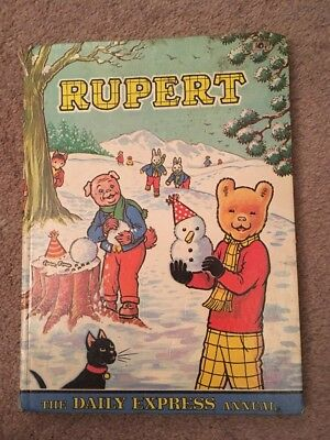 RUPERT ANNUAL 1974 Vintage - Unclipped ,The Daily Express Annial,Comic Strip