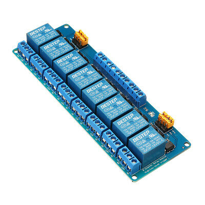 [NEW] BESTEP 8 Channel 12V Relay Module High And Low Level Trigger For Arduino
