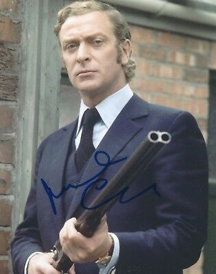 MICHAEL CAINE SIGNED 8x10 PHOTO - UACC & AFTAL RD AUTOGRAPH