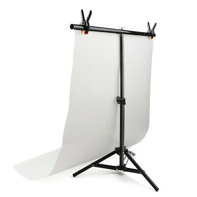[NEW] Studio Backdrop Stand T- Frame Light Stand with Clamp