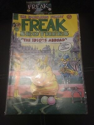 FABULOUS FURRY FREAK BROTHERS Comic - The Idiots Abroad - No 9 - Date 1985 - UK
