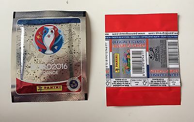 Panini Euro 2016 - Pochette Bustina Tüte Sobre Bag Packet Swiss Edition Suisse