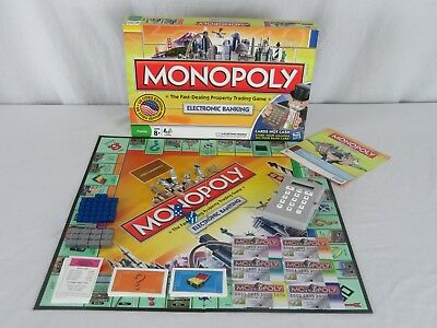 Monopoly electronic banking board game here & now the world.