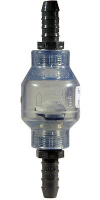 Aquarium Swing Check Valve; 1/2 - 5/8 inch WITH male hose barbs