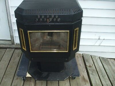 Used Pellet Stoves For Sale >> Us Stove Logwood 1600 Sq Ft Epa Certified Cast Iron Wood Stove