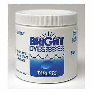 Bright Dyes Tracer Dye Tablets Blue