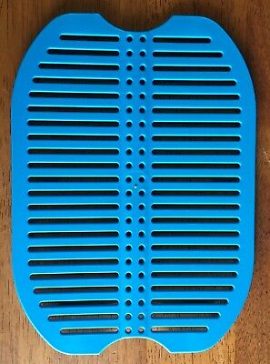 Tupperware Fridge Stackable Grid Tropical Water Blue No 3422 Replacement