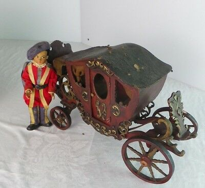 Vintage Buggie Carriage Coach   & Doll