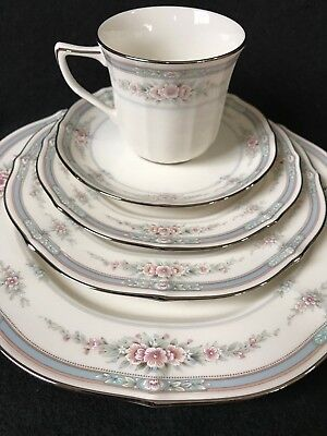 Noritake Rothschild #7293. 5-PIECE PLACE SETTING.  Mint Condition! Never Used!