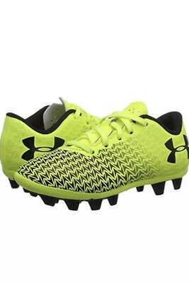 f3e7f68fd86e NEW YOUTH UNDER Armour Cf Force 3.0 Fg Soccer Cleats Football Boots ...