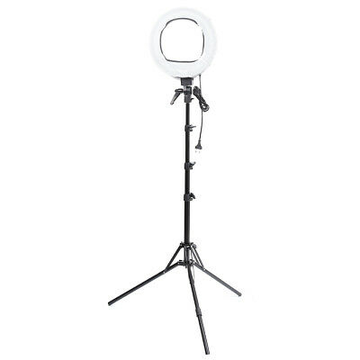 [NEW] 1PCS Only VL-9047 45W 5500K Studio LED 12 Inch Ring Light With Stand Photo