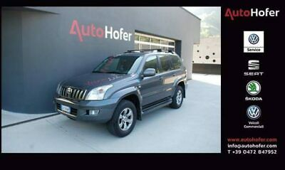 TOYOTA Land Cruiser 3.0 D-4D 16V cat 5 porte Sol Radio Navi Bluetooth
