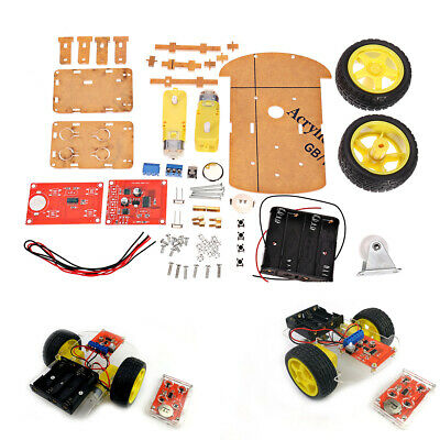 [NEW] DIY 2.4G Wireless Remote Control Smart Car Chassis Unassembly Kit for Ardu