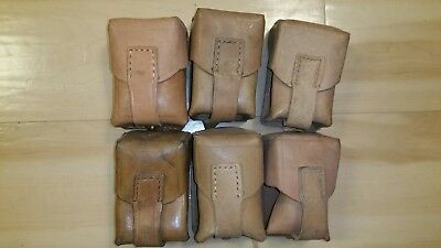 Yugoslavian 8mm Mauser Leather Ammo Pouch Yugo M48 M24 Serbian Mauser Very Good