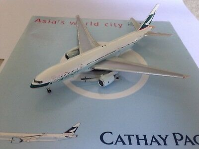 Gemini Jets 1:400 Cathay Pacific B777-200 B-HNL 1st Boeing 777 In The World