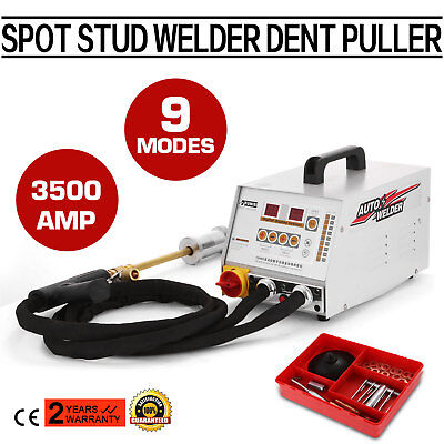 3500A Spot Stud Welder Dent Puller Repair Kit 3500AMP 3 STARS AUTOMATIC POPULAR